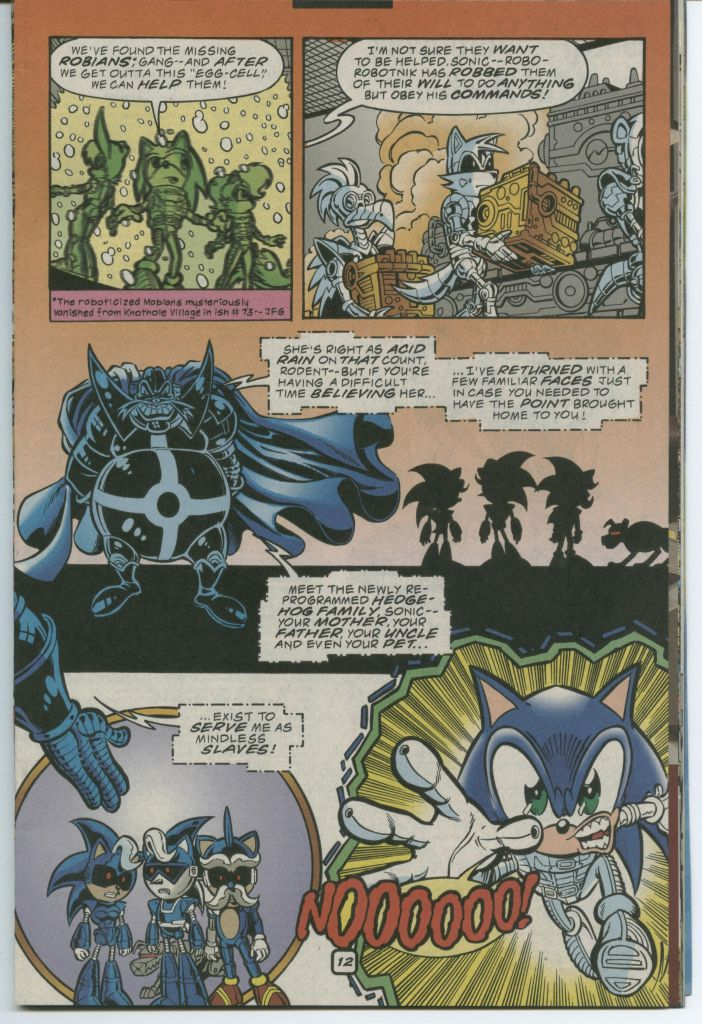 Read online Sonic The Hedgehog comic -  Issue #75 - 17