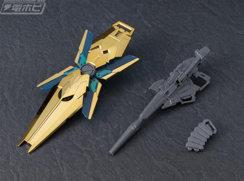 HGUC 1/144 RX-0 Unicorn Gundam 03 Phenex ver. NT [Gold Coating] Sample Images by Dengeki Hobby - Gundam Kits Collection News and Reviews