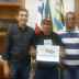 Jaguarari-Ba: ESCOLINHA DE ATLETISMO FLAMENGO DISCUTE PROJETO PARA 2017 COM EVERTON ROCHA