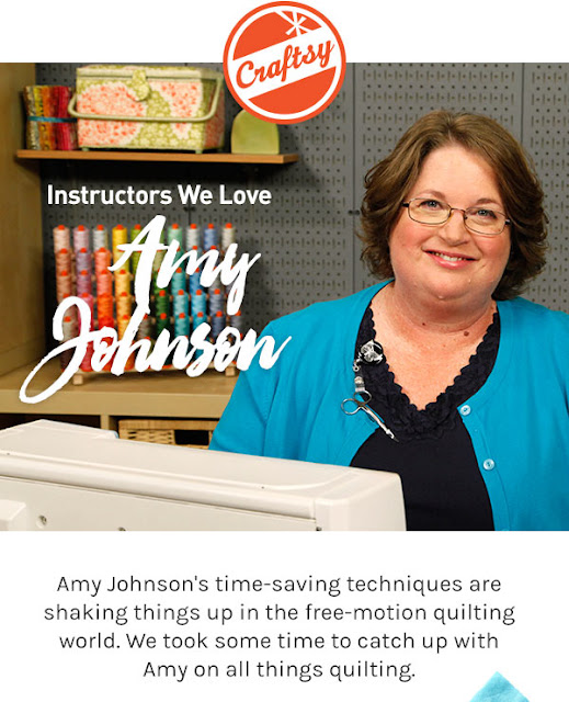 Amy Johnson Craftsy instructor