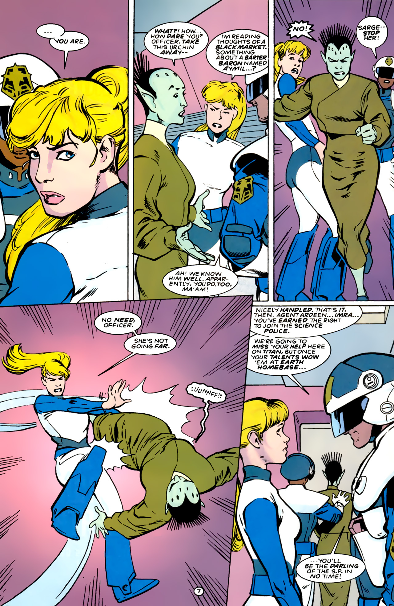 Legion of Super-Heroes (1989) 0 Page 7