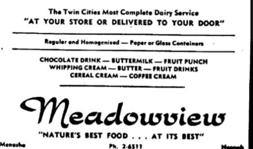 MENASHA: Meadowview Dairy