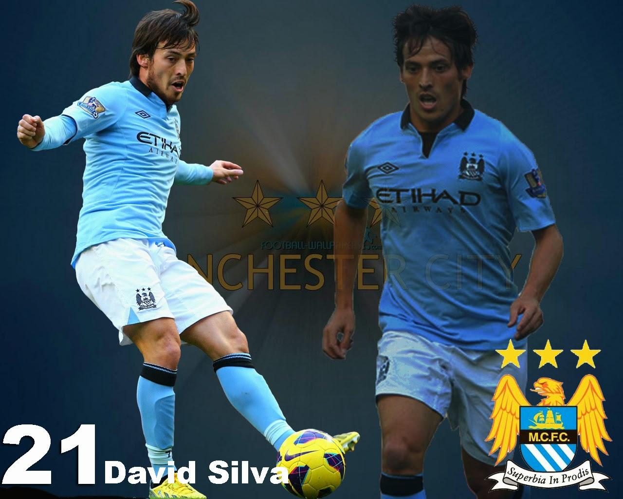 David Silva Man City Wallpaper