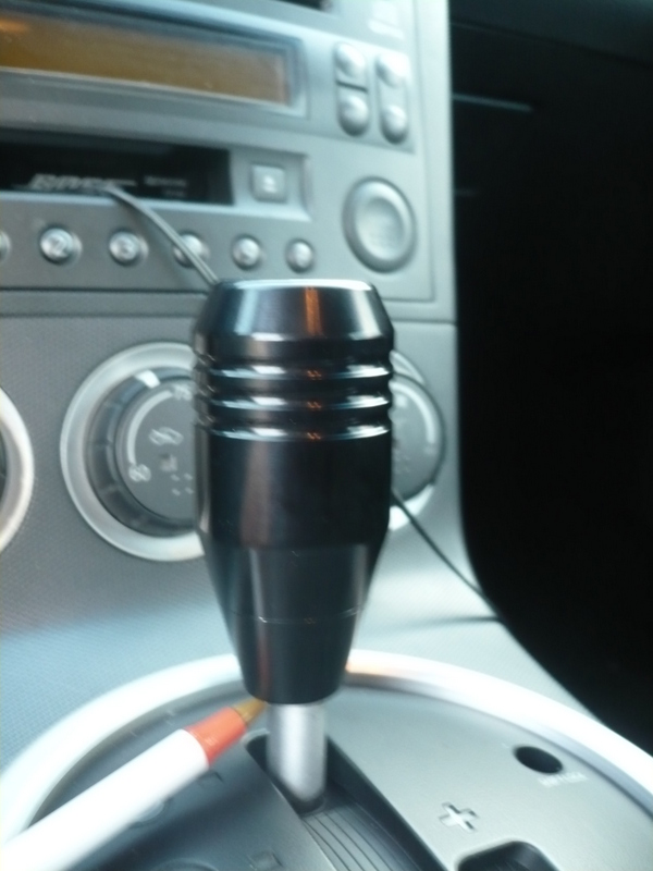6 Foot Over: 350Z Auto Shift Knob Assembly Instructions