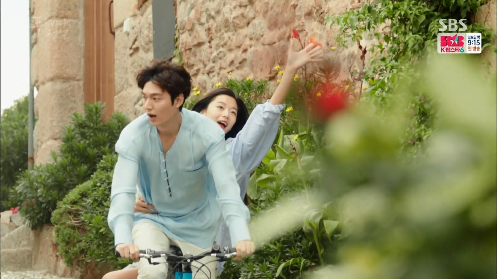 Screenshot Joon Jea And Cheong Yi Happy Moment The Legend Of The Blu Sea (2016)  1080p Episode 02 - www.uchiha-uzuma.com