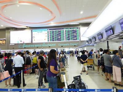 Aeropuerto Internacional Don Mueang, Bangkok,  Tailandia, La vuelta al mundo de Asun y Ricardo, vuelta al mundo, round the world, mundoporlibre.com