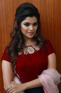 Actress Aathmika in lovely Maraoon Choli ¬  Exclusive Celebrities galleries 101.jpg