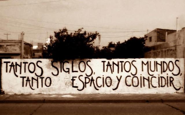 """""""antos siglos, tantos mundos, tanto espacio y coincidir."""" Mexicanto-Coincidir"""