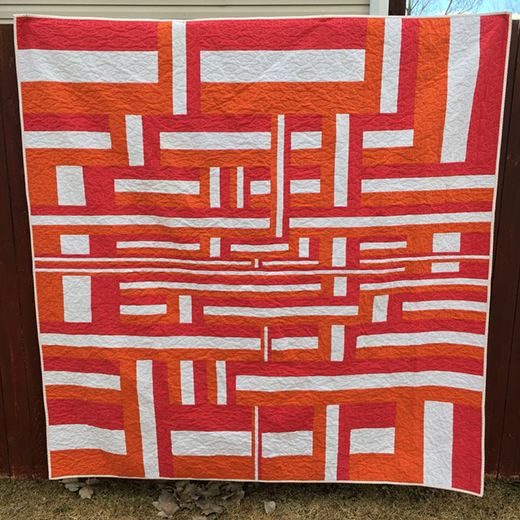 Off the Rails Quilt Free Pattern designed By Amy Ellis of Amy's Creative Side