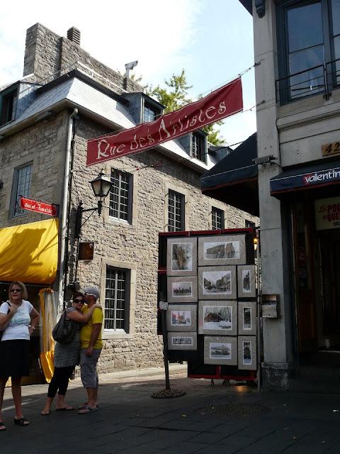 le vieux Montréal