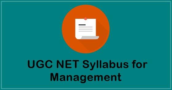 UGC NET Syllabus