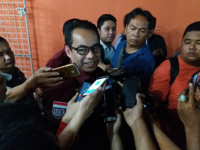 Keterangan pers penetapan tersangka Jr Saragih