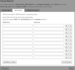 Cara Menambahkan lagu di blog dengan pilihan lagu sendiri