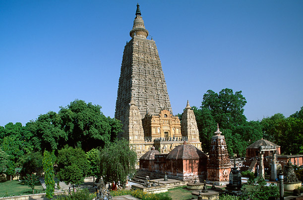 Mahabodhi Temple Bodhgaya, Bihar India -is also one of the Richest temple in India