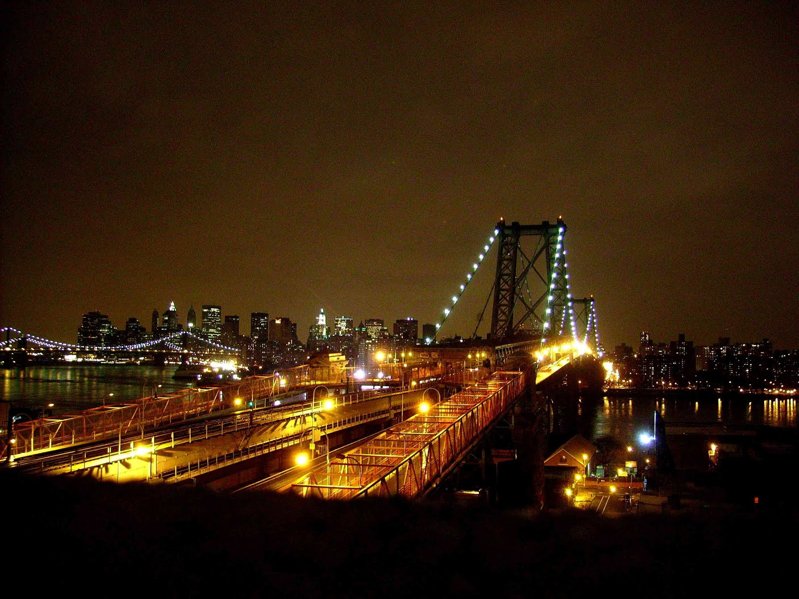 Williamsburg bridge Brooklyn NYC