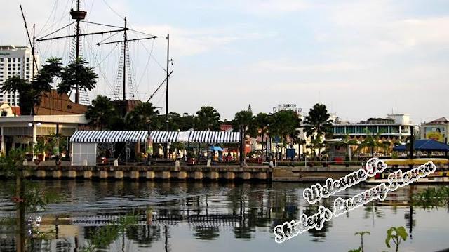melaka river boat tour