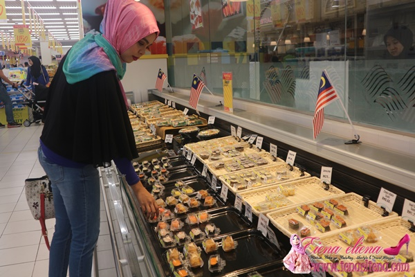 ruangan Lulu Sushi di Lulu Hypermarket
