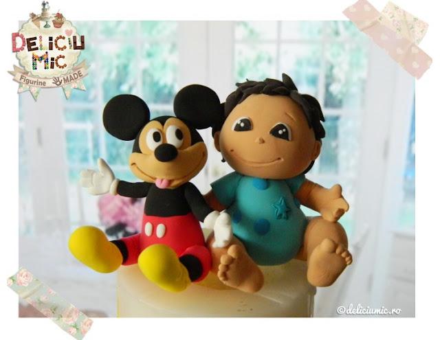 figurina pentru tort mickey mouse