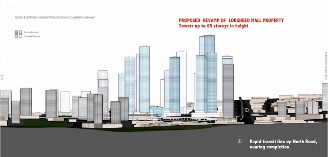 Lougheed Mall redevelopment proposal - Burnaby March 2016