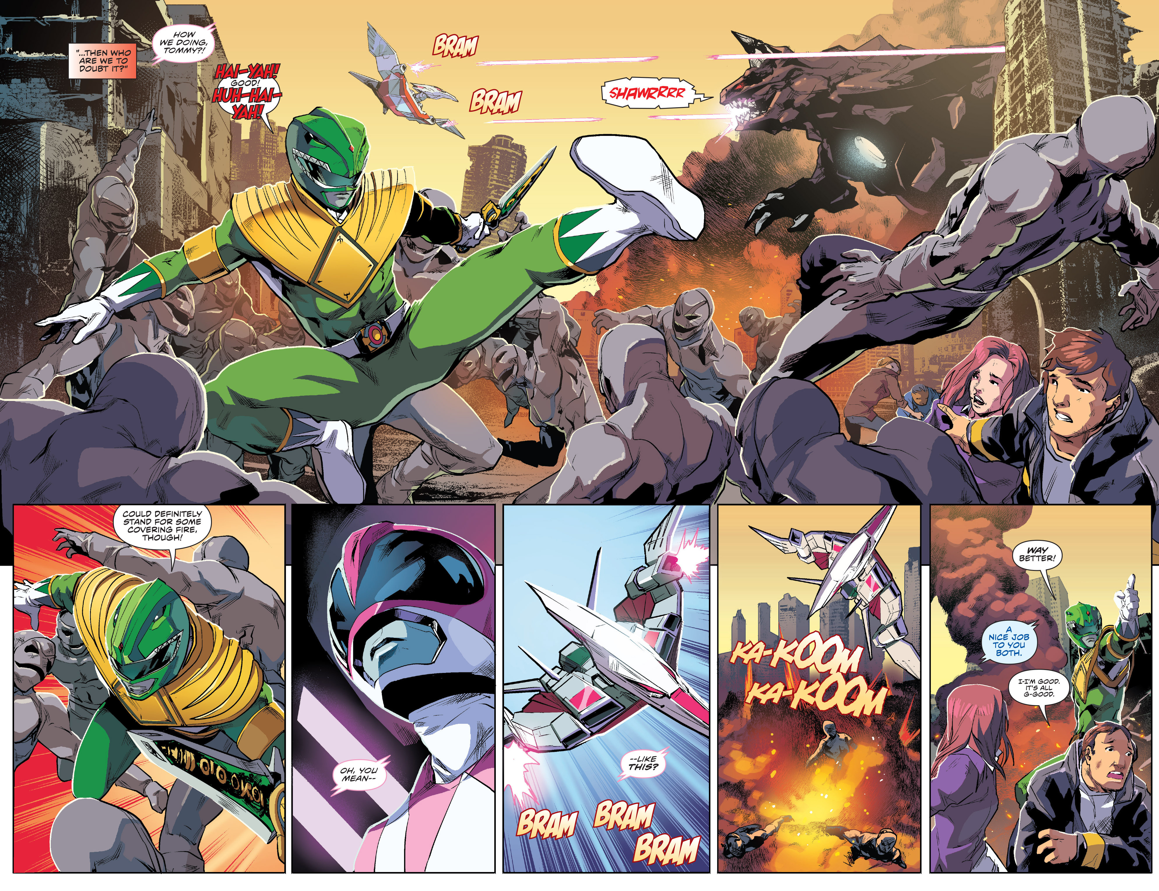 Read online Mighty Morphin Power Rangers comic -  Issue #1 - 16