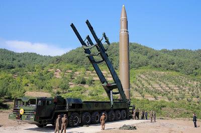 Hwasong-14, misil balístico intercontinental de Corea del Norte / Reuters