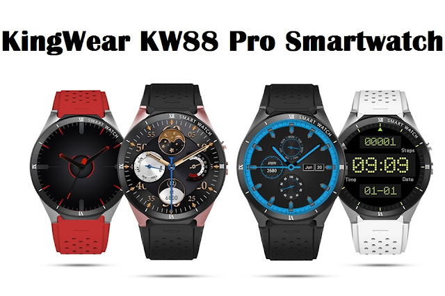 KingWear KW88 Pro 3G Smartwatch Specs,price,Features