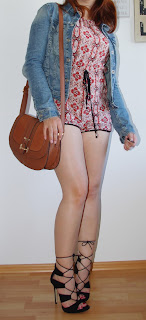 [Fashion] Keep Calm and Boho On!: Boho Jumpsuit with Jeans Jacket