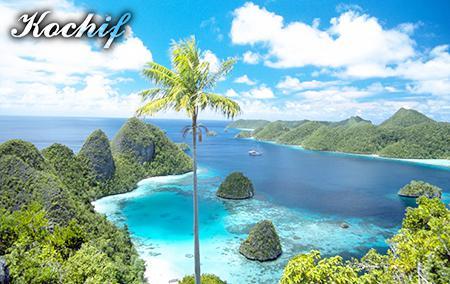 Gambar Pantai Raja Ampat (Papua)