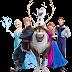 PNG Frozen (Elsa, Anna, Olaf)