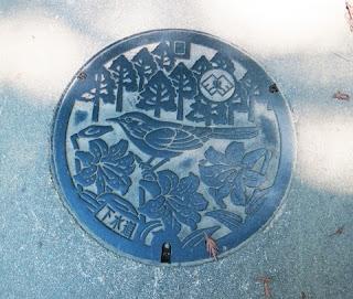 下水道のマンホールの写真