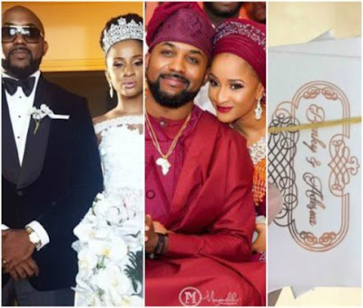 Here's what the access card to Banky W and Adesua's wedding tomorrow looks like