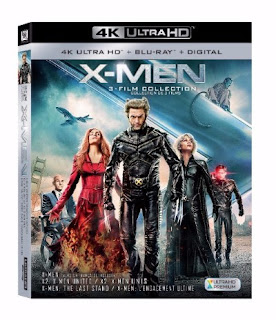 Fox X-Men Trilogy Evolution 4k Ultra HD and Blu-ray