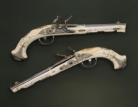 Flintlock Pistols of Catherine the Great