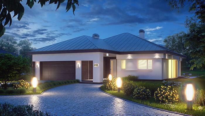 Mẫu thiết kế kiến tr biệt thự nghỉ dưỡng nhà vườn 132m2- 1