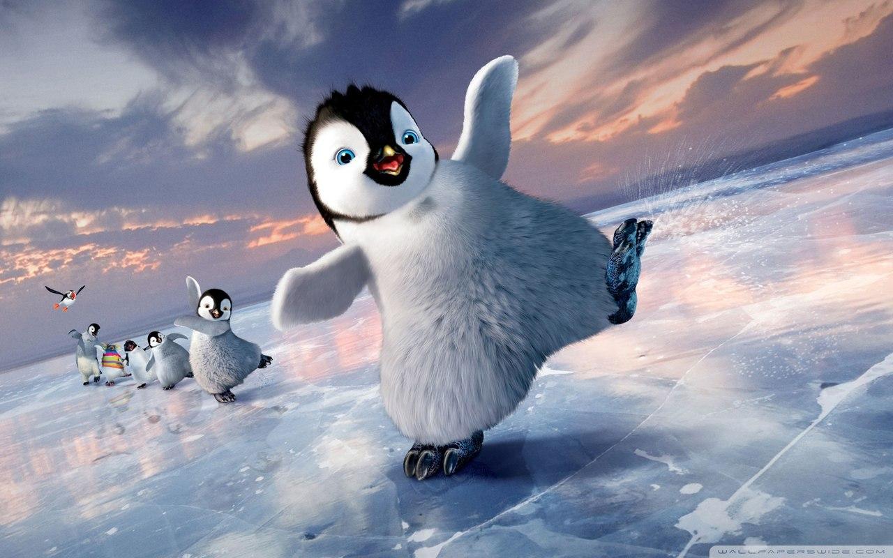 Foto divertenti: Immagine pinguini madagascar sorridenti