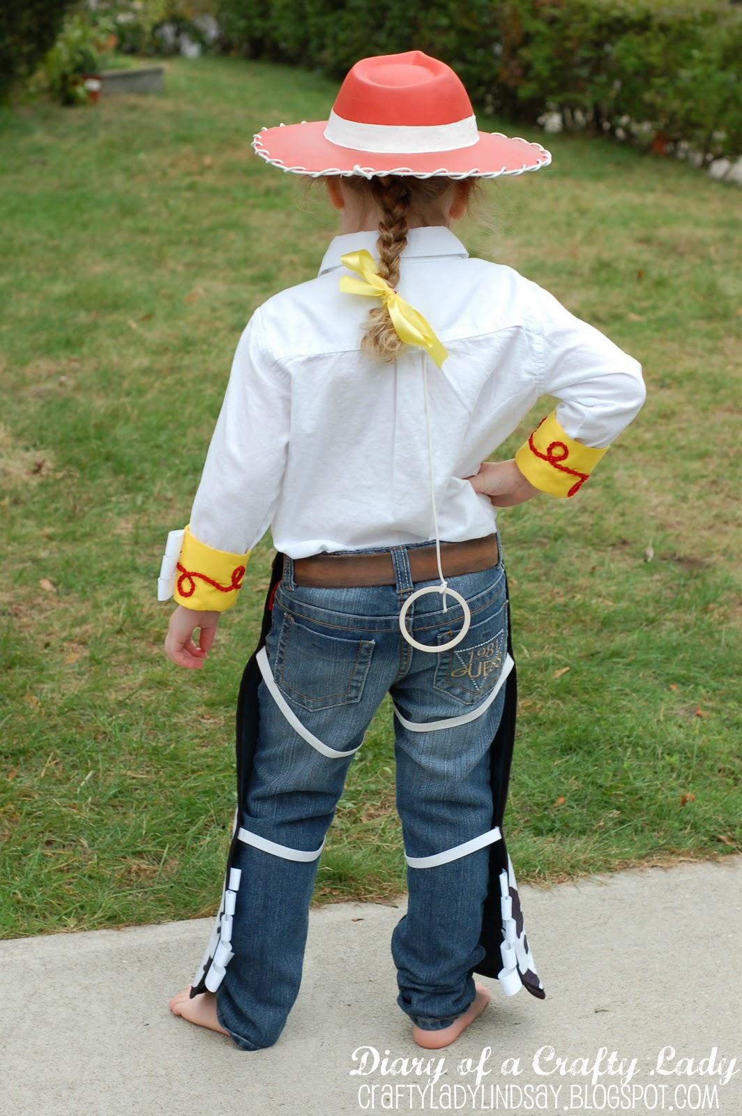 Diary of a crafty lady cowgirl jessie halloween costume solutioingenieria Gallery