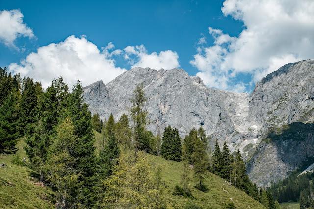 Vier-Hütten-Wanderung Mühlbach  Wandern am Hochkönig  Wanderung SalzburgerLand 16