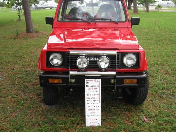 Trophy Truck For Sale Craigslist >> 1986 Suzuki Samurai 4x4 Jeep for Sale - Show Winner
