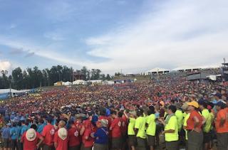 "POTUS Trump RIPS Obama - Scouts Chant ""We Love Trump!"" at National Jamboree (VIDEO)"