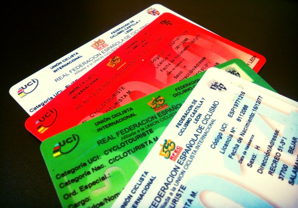 Licencias RFEC