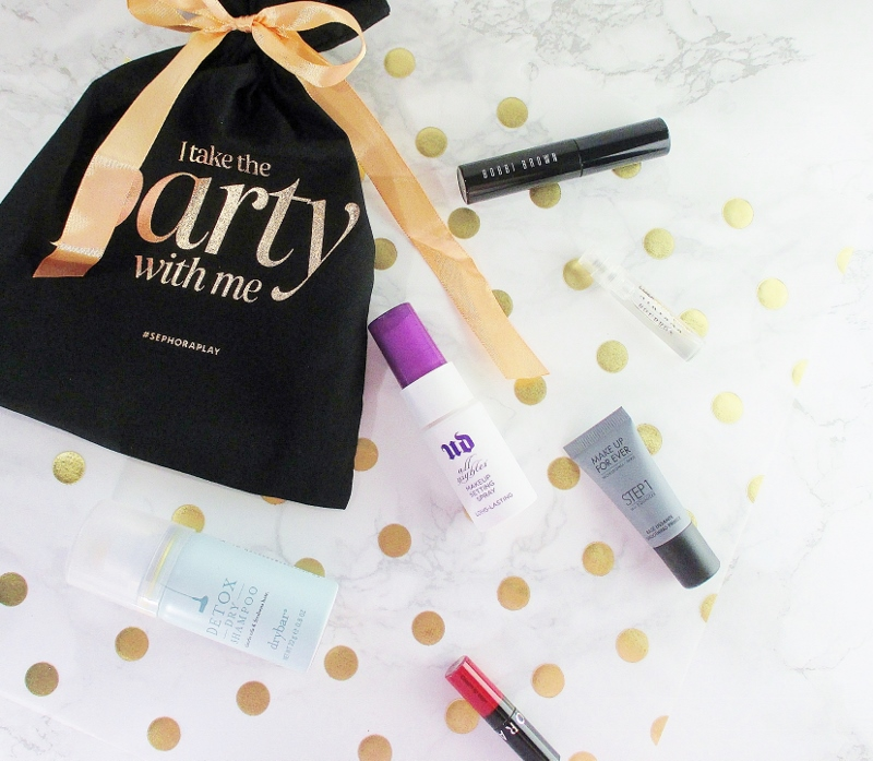 my december play by sephora beauty subscription box