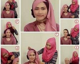 model jilbab wisuda ala dian pelangi model jilbab wisuda anak sma