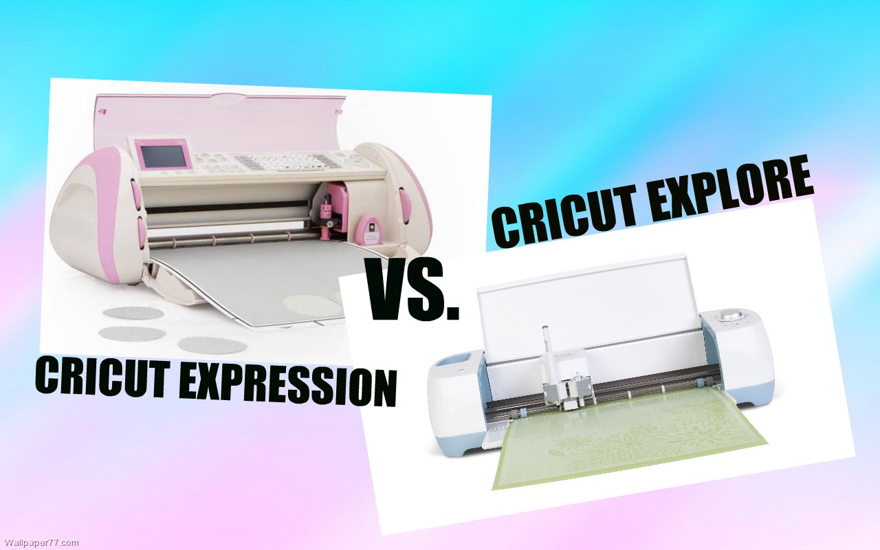 Since this video I have been asked many time to make a video comparing the  Cricut Explore to the Cricut Expression.