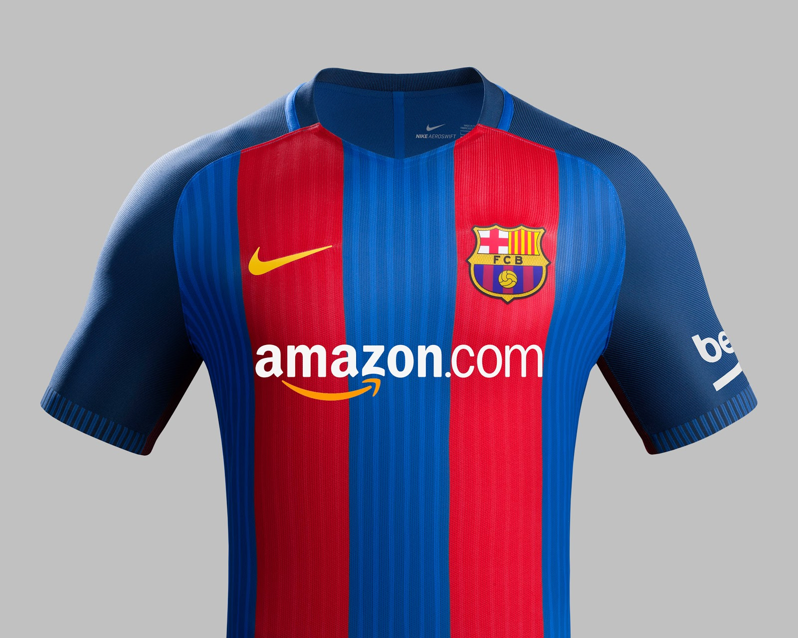 Amazon podría ser el nuevo patrocinador del F.C. Barcelona