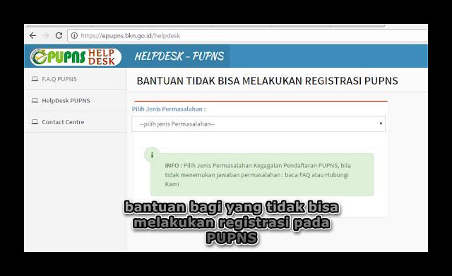 FAQ PUPNS Melayani Keluhan Registrasi Data Entry PUPNS