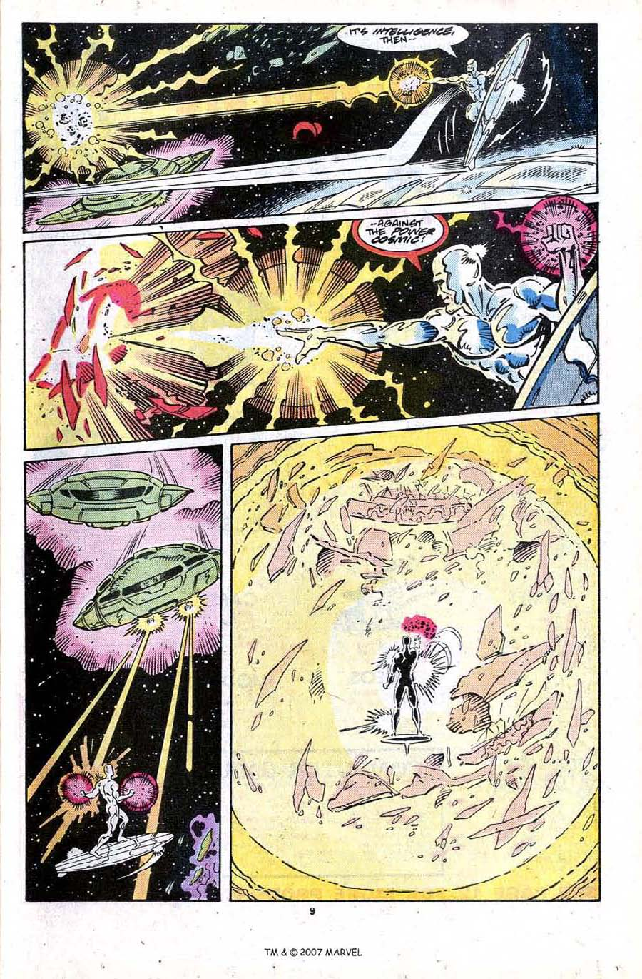 Read online Silver Surfer (1987) comic -  Issue #24 - 11