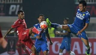 Persib Bandung Ditahan Imbang Semen Padang FC 0-0