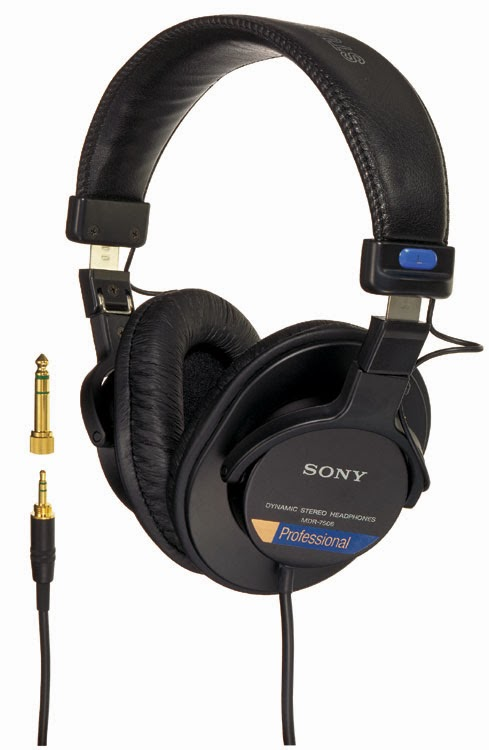 Sony 7506 Headphones image from Bobby Owsinski's Big Picture Blog