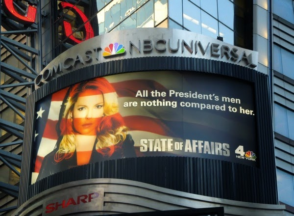 State of Affairs series premiere billboard NYC