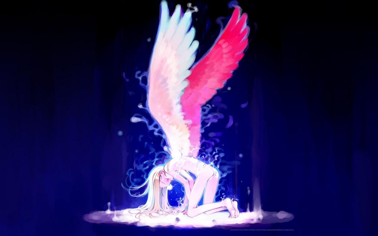 Wallpaper wallpaper of a angel - Anime wallpaper angel ...